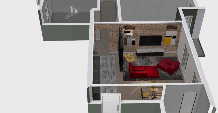 VIA VENETO PROGETTO Interior Design Render