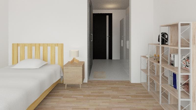 MUJI STYLE Interior Design Render