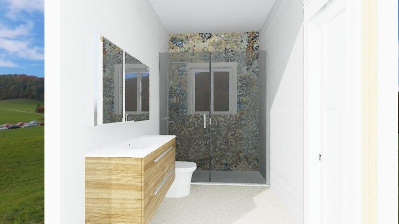 Maria Asuncion Baño pasillo Interior Design Render