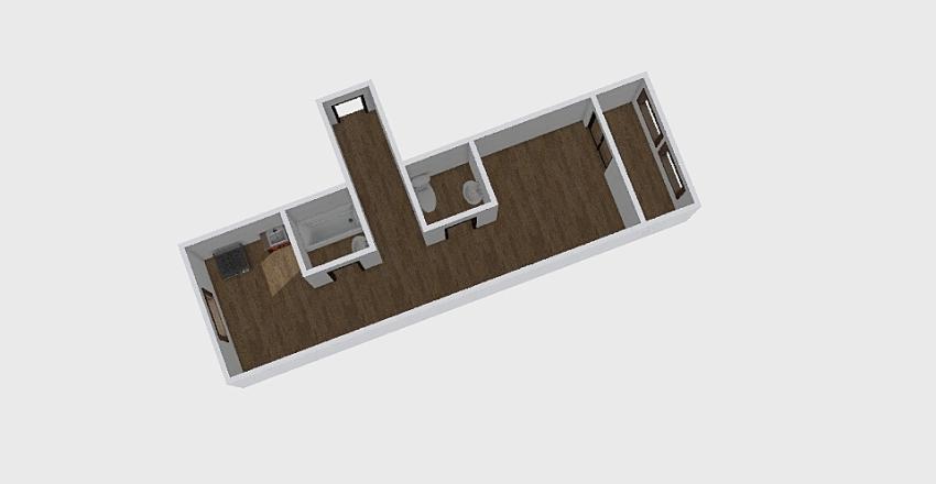 1-комн_040 Interior Design Render