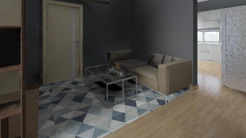 建築材料報告 Interior Design Render