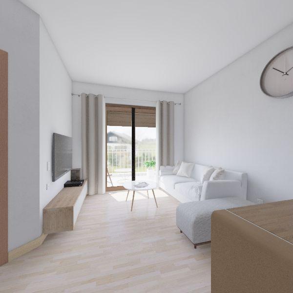 mieszkanie - wyposazenie Interior Design Render
