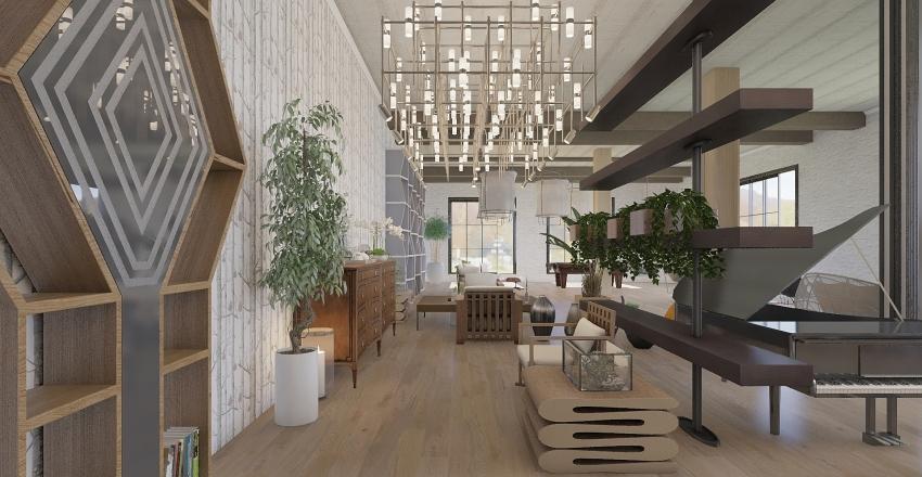 Zuri Attic Interior Design Render