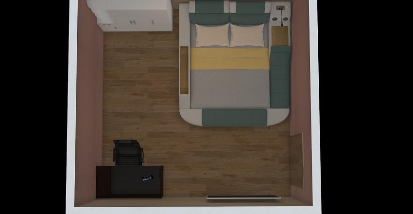 Tourist Room Bussiness class Interior Design Render
