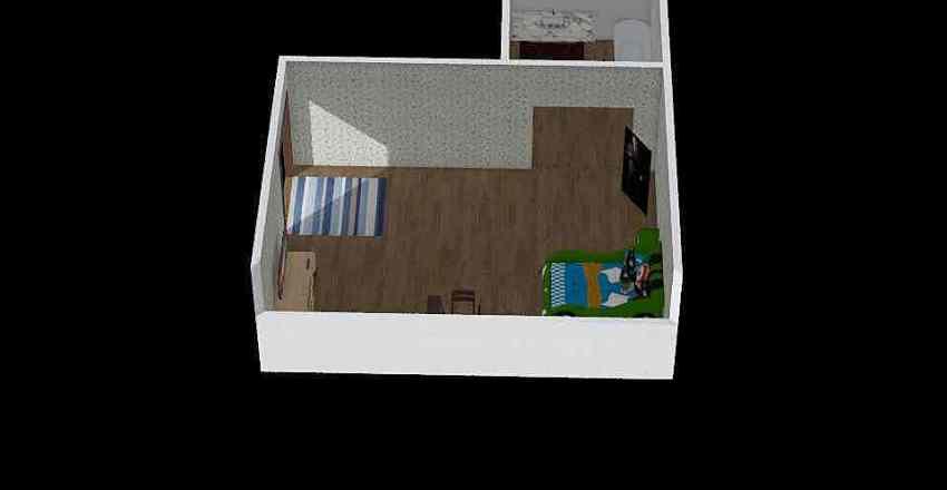 big boy room Interior Design Render