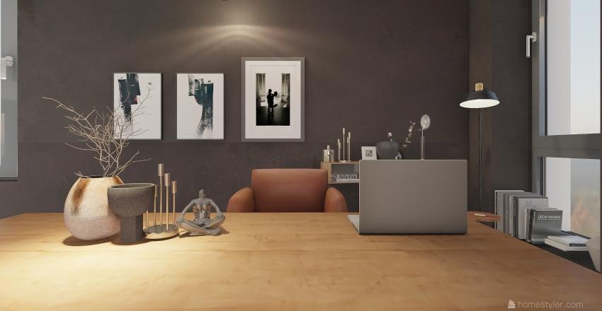 Urban 2 story apartment Interior Design Render