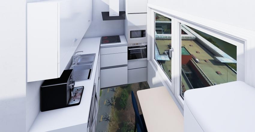 kuchyna byt Interior Design Render