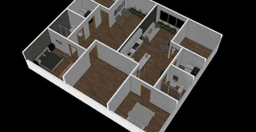 VIVIENDA Y SOCIEDA Interior Design Render
