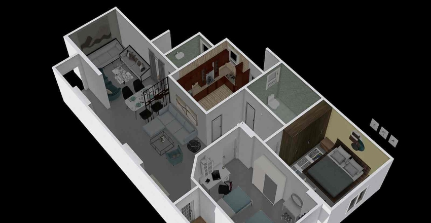 mai 2 Interior Design Render