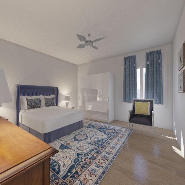 Dormitrio anciano Interior Design Render