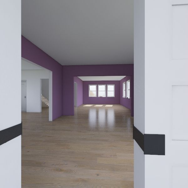 Sullivan 1st Floor Interior Design Render