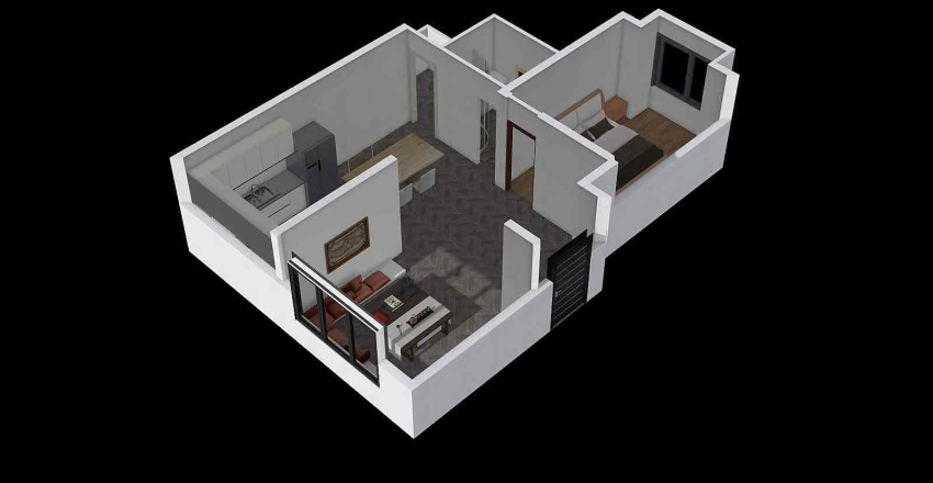 幹 Interior Design Render
