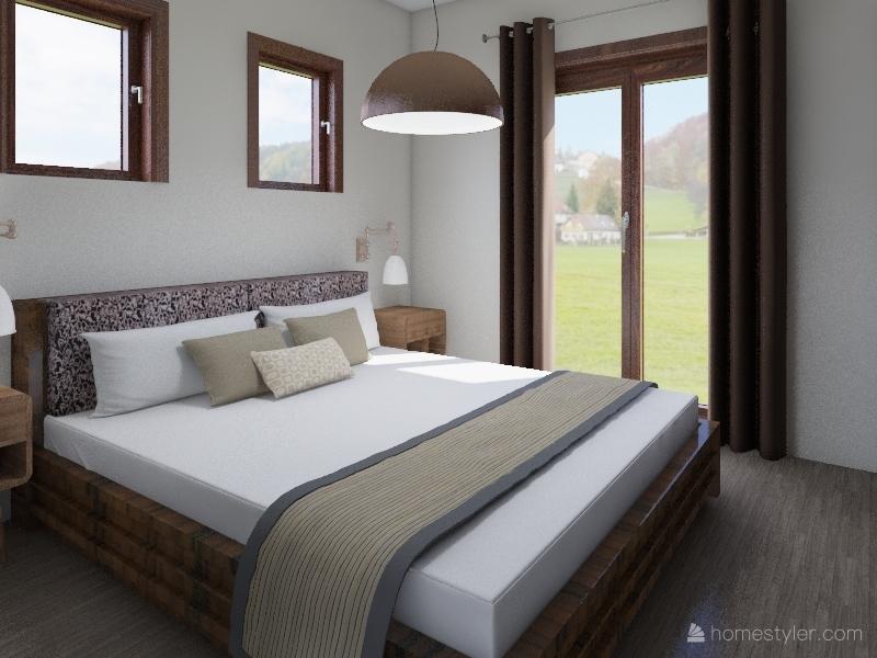 Σπίτι Interior Design Render