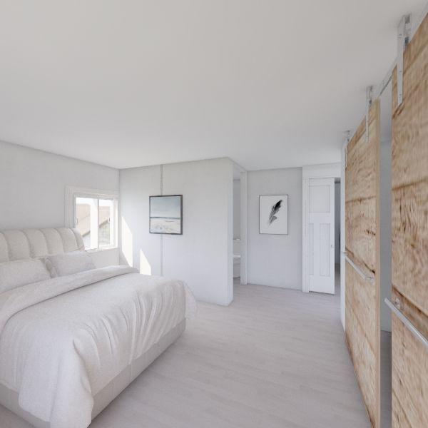 basement Interior Design Render