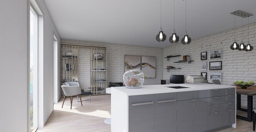 CASA FLORES Interior Design Render