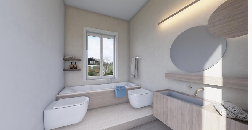 SCAGLIA BAGNO Interior Design Render