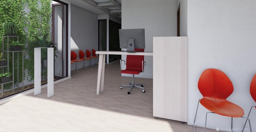 CONSULTORIOS 60 Interior Design Render