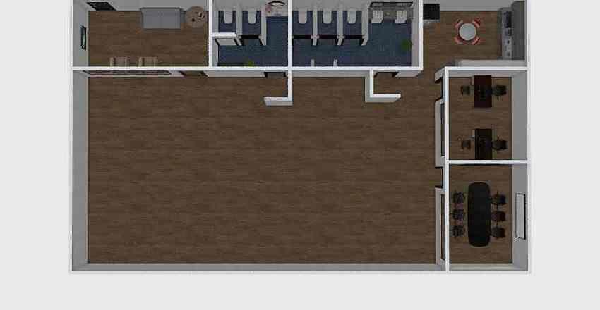 PLANEJAMENTO DE OFICINAS Interior Design Render