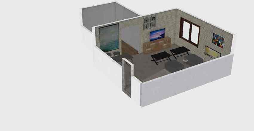 융합연구 Interior Design Render