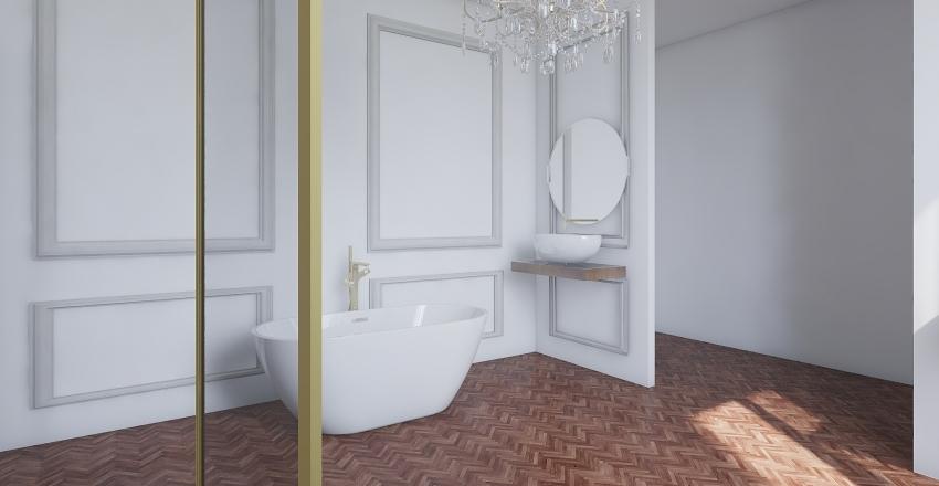bath Interior Design Render