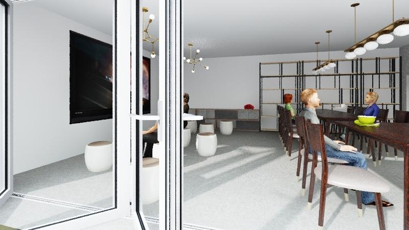 aesop報告 Interior Design Render