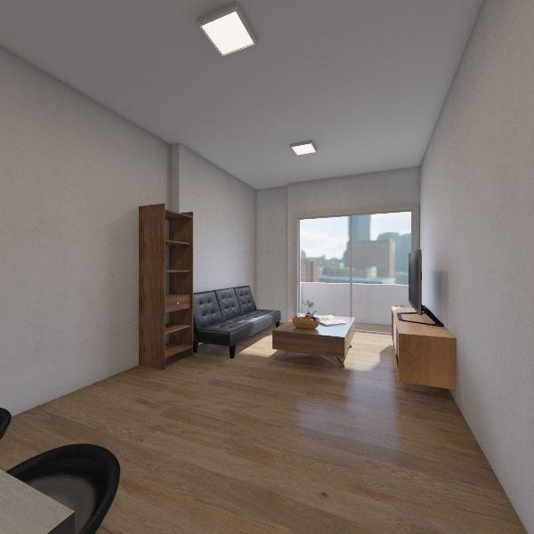 1102 Live v3 Interior Design Render