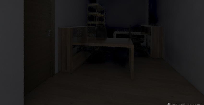 HQ-600 Space w/ UTSO Interior Design Render