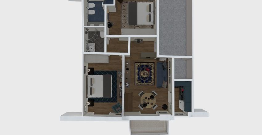 Andora P3 Interior Design Render