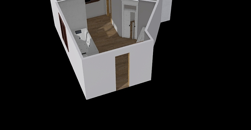 Cass's Bathroom Interior Design Render