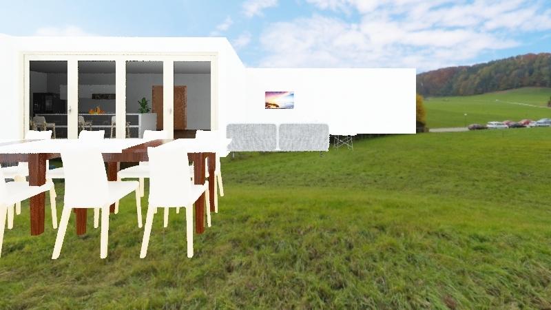 Della's house Interior Design Render