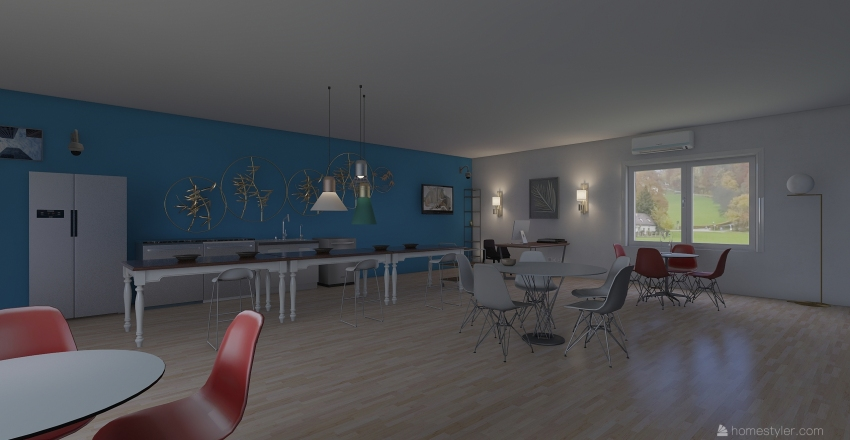 ROJAMI RESTAURANT Interior Design Render