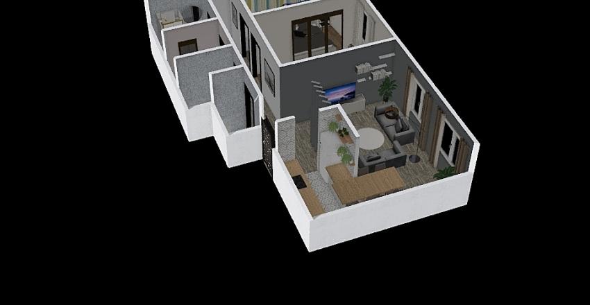 Marin drugi Interior Design Render