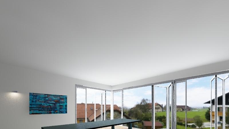 Salvo mansarda Interior Design Render