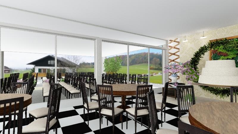 Casamento Goiás Tenda Interior Design Render