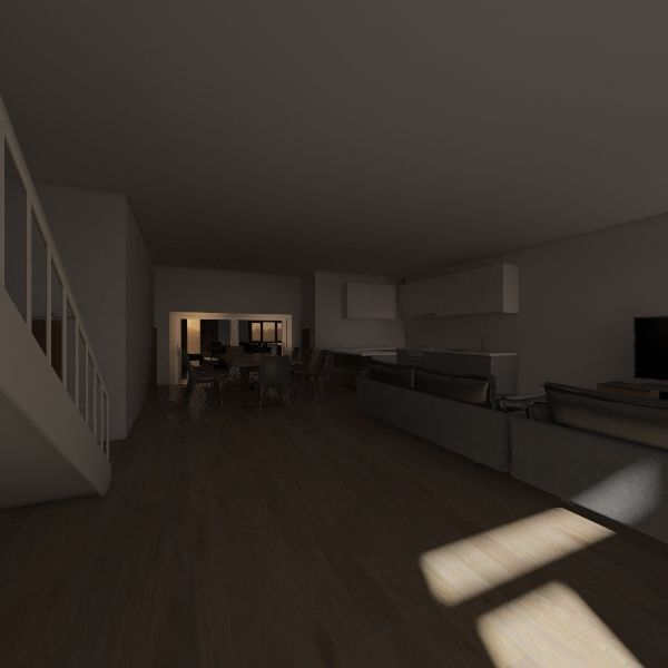 3D Plan Interior Design Render
