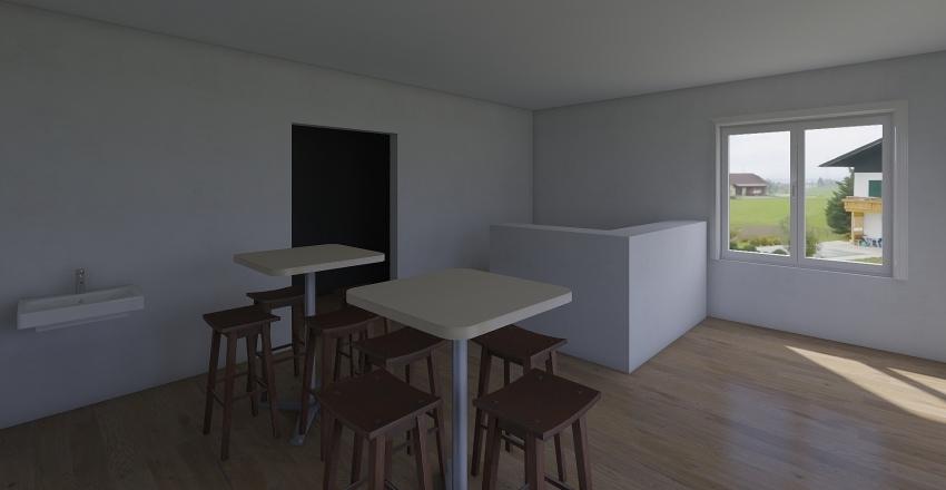 Kebab Interior Design Render