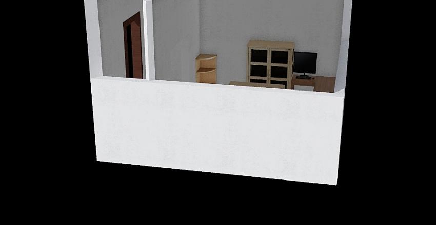 Calibration Room Interior Design Render