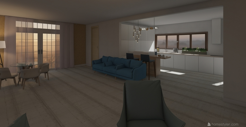 Мой дом  Interior Design Render