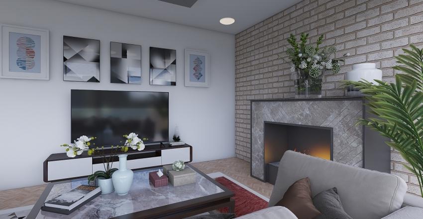 Comfy home Interior Design Render