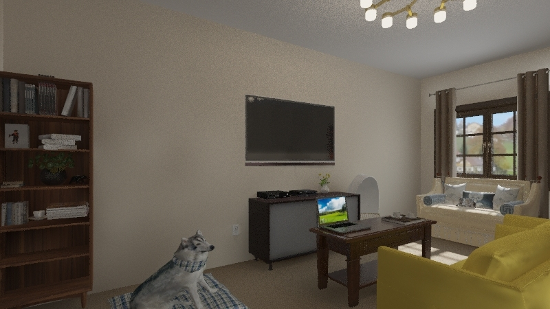 a home Interior Design Render