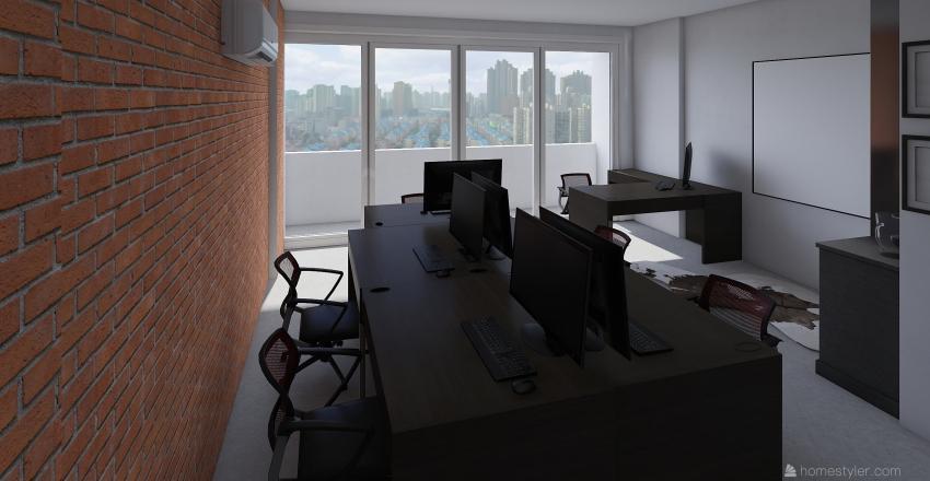 Sala Comercial Bruno Interior Design Render