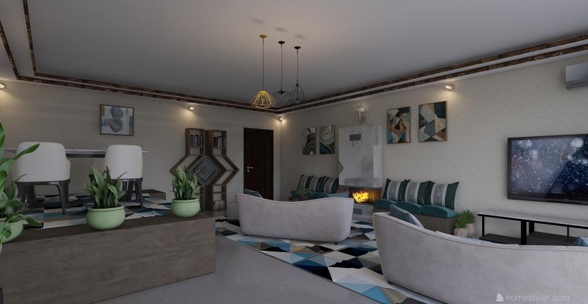 RETIRE Interior Design Render