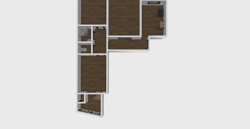 3-комн_023_38 Interior Design Render