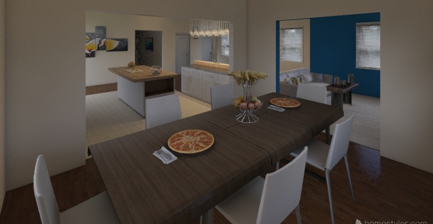 FOT House MM Interior Design Render