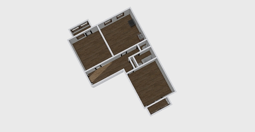 2-комн_0333 Interior Design Render