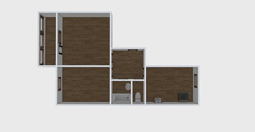 2-комн_0334 Interior Design Render