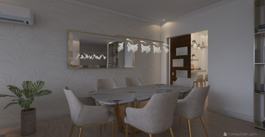Cartagenas View Interior Design Render