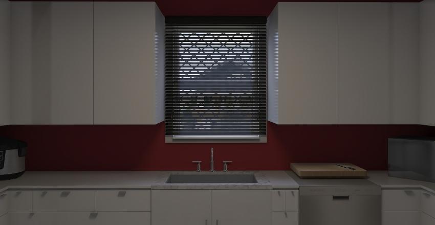 3 Angel Ortiz U-Shape kitchen Interior Design Render