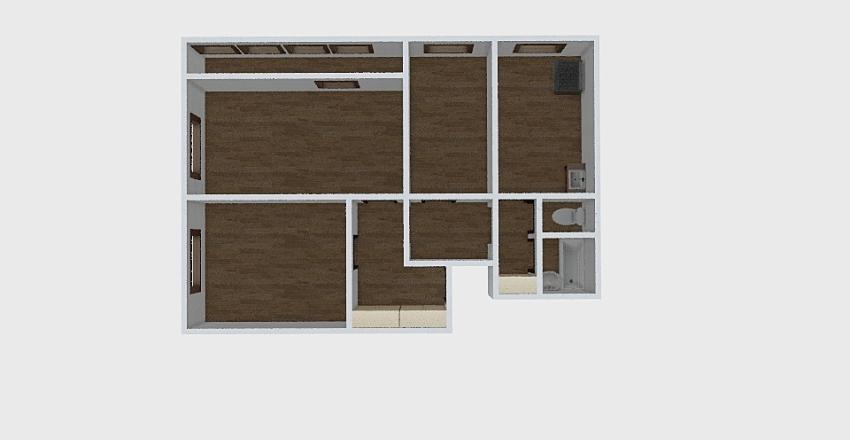 3-комн_0227 Interior Design Render