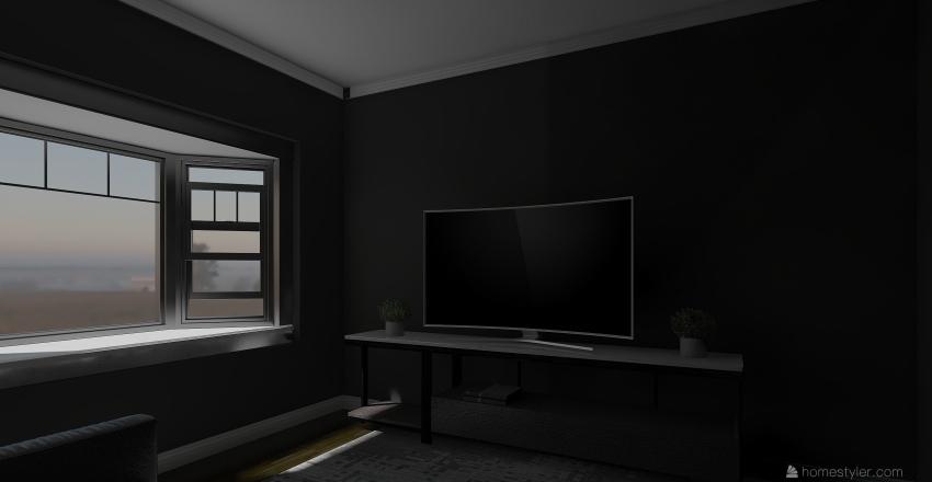 modern dream Interior Design Render
